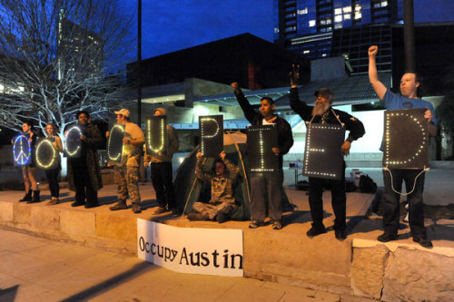 (via Occupy Austin Gallery - The Austin Chronicle)