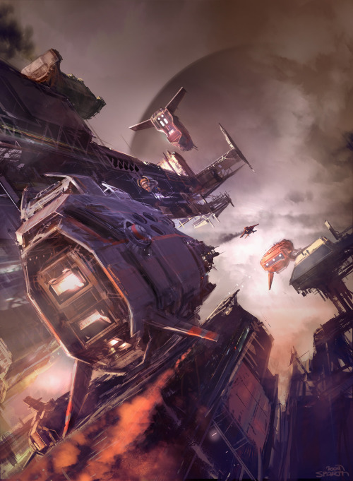 sparth:  HAZE book cover - L.E.Modesitt. Jr.2009. Tor books.