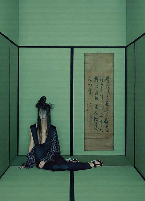 罗生门, Han Bing by Sun Jun for Numéro China March 2013.