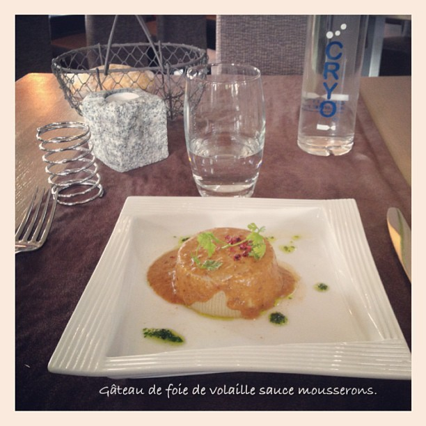 Kitty #instacollage #lunch #food #frenchfood  (à Les Bartavelles Hotel Embrun)