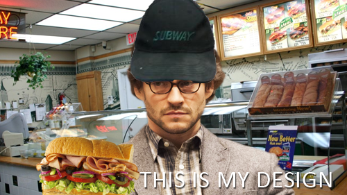 thisis-mydesign:  Will Graham (Sandwich Artist)