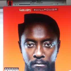 """Listening to #WillPower - lets see how this goes. I am digging """"getting' dumb"""". #william #pop"""