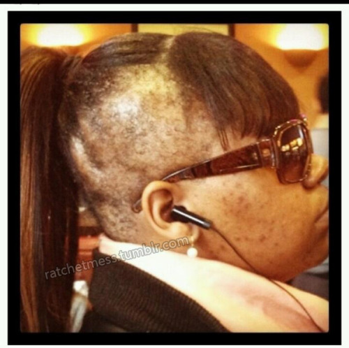 ratchetmess:  why do a ponytail though???