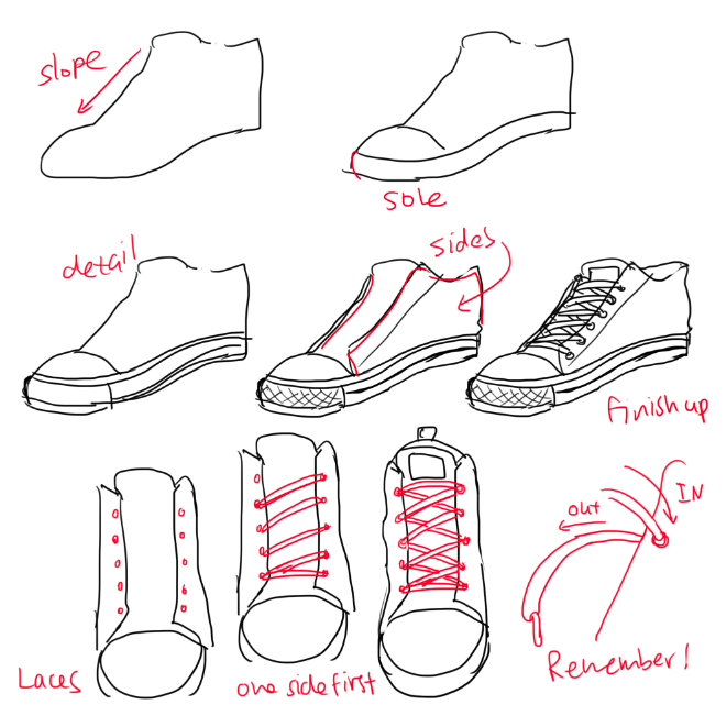 how to draw boots front view - photo #11
