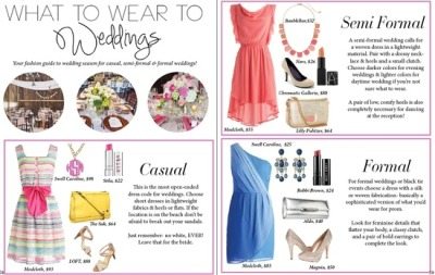 LPF Mag Issue #3 // What to Wear to Weddings