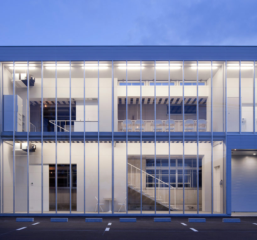 (yasutaka yoshimura architects: nakagawa office extensionから)