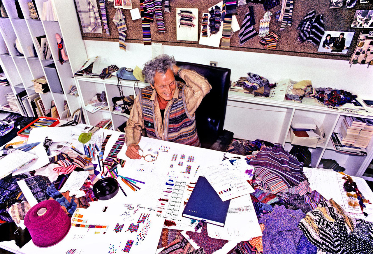 Ottavio Missoni (11 February 1921 - 9 May 2013)