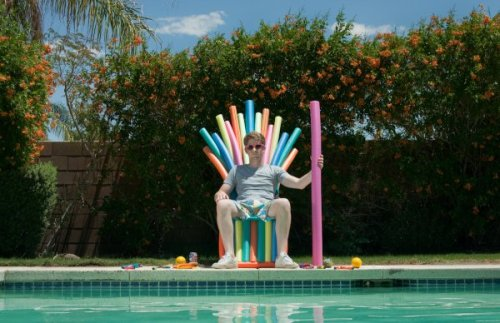 dorkly:  The Pool Noodle Throne Summer is coming.