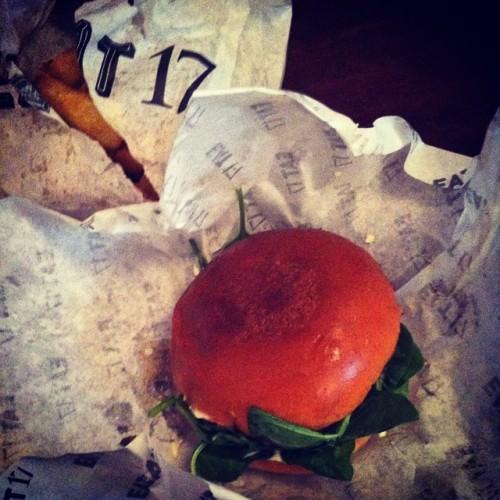 #Burger noms with @hirokoaiisdead  (at EAT 17 Hackney)