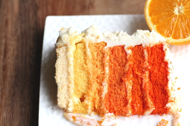 graceinfood:  ombre layer cake [tutorial]