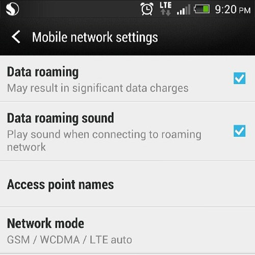 Unlocked my T-Mobile HTC One and I'm back on the AT&T LTE network!