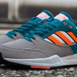 lashawnbell:  Adidas Tech Super grey, orange, teal