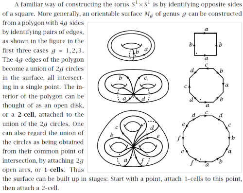 isomorphismes:  Once you've accepted that Pac Man takes place on a torus  you can extend the same trick to make higher-genus manifolds.
