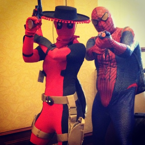 #spideypool  (at Ikkicon VII)