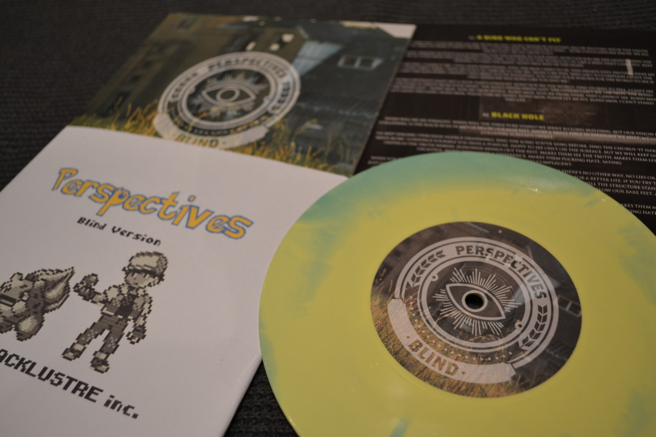 Perspectives - Blind (1st Pressing, Mint/Yellow Swirl, /100) | Lacklustre