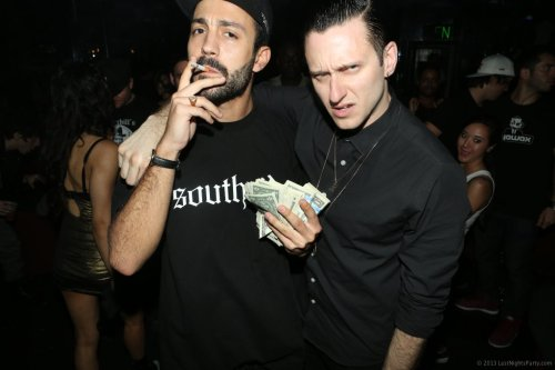 . @brodinski & @dropthelime in Miami