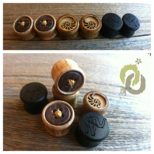 "maybeimnotallyellow:  Omerica Organic Plugs All Omerica Organic products are made to order, if you need something to be customized you can request in the ordering process. Omerica Organic products are made in the US by a small business that thrives to be eco friendly. All designs are unique and created by Omerica Organic ""no style jacking"" USE REP CODE : 9299929 TO RECEIVE 20% OFF YOUR FIRST PURCHASE. PHOTO IS TAKEN BY OMERICA ORGANIC"