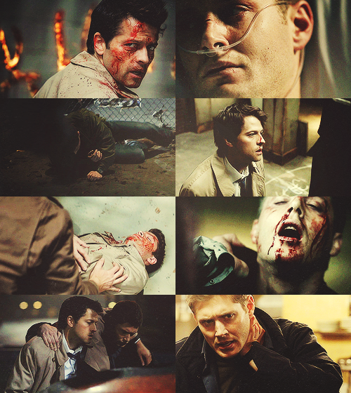 namethatgifblog:  deancas picspam - bruised & battered