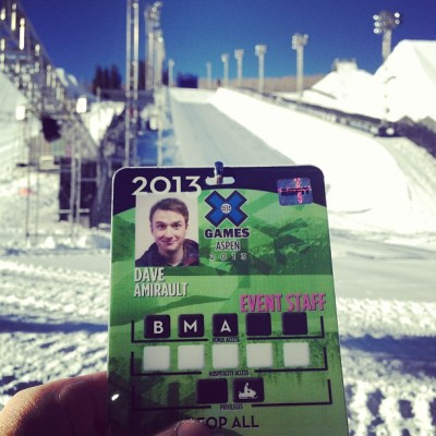 Achievement Unlocked: @xgames Credential (at Buttermilk Mountain)