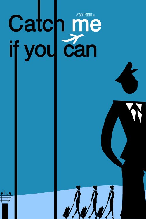 manofthemmnt:  Catch Me if You Can cover by Saul Bass (the guy that's on the google frontpage today).