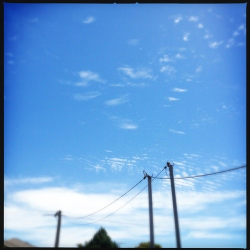 Blue skies, with a chance or armageddon. #2012 #dec21 #armageddon