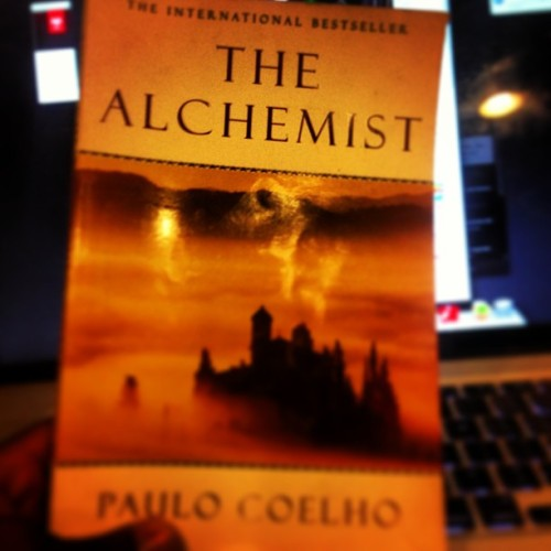 The Alchemist by Paulo Coelho. It is a great book about a boy who follows his dream and listens to his heart. First book I have read since moving to Connecticut. I might read it again. #recommended  #read #fiction #bestseller #thealchemist