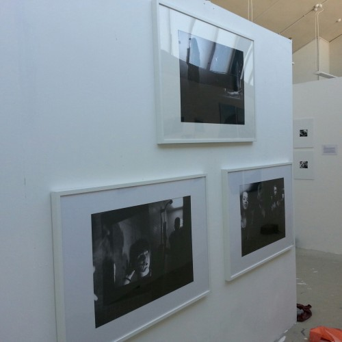 Prints are up for the final degree show in Farnham!