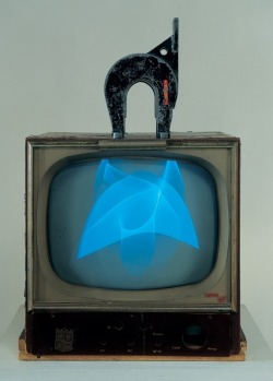 free-parking:  Nam June Paik, Magnet TV, 1965