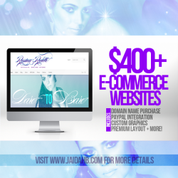 $400+ ECommerce Websited!View Post