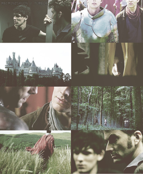 "maiminzgruen:  Merlin // Doctor Who AU - Jethro  and  Camelot As the Doctor decides to take Jethro along with him for a journey to the past, the young boy doesn't quite believe it when they end up in a world full of knights, dragons and magic. But not only that, suddenly he is facing a man who claims to be the King of Camelot. And as this guy, above all of this, calls him ""Merlin"" and wants him to polish his boots, Jethro just laughs and leaves the confused King behind. But, certainly, this stuck up man with golden hair is stunningly beautiful, isn't he?  ""Hey, Merlin! This wasn't a joke, my boots need polishing."" ""I don't know what you're talking about, you giant prat. Do I look like this 'Merlin' to you?""""Yes, indeed you do. Although your hair has grown so long in an amazing short time … Now stop joking and get to work! Or do I need to throw you in the dungeons for the night?""""I don't know if you're joking, but I am off. See ya!"""