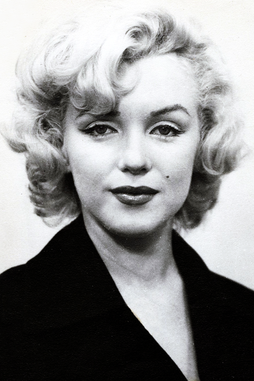 vintagegal:  Marilyn Monroe's passport photo, 1954