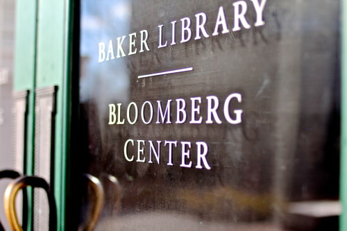 matthewschmidt:  Bloomberg Center. Baker Library at Harvard Business School. Boston, MA