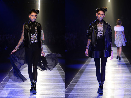 Murua AW 2012 collection at Japan Fashion Week More runway style from Japan Fashion Week here.