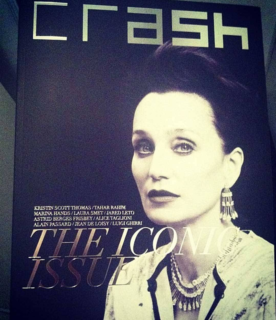 momofls:  CRASH Magazine #64 With Kristin Scott Thomas. French issue.