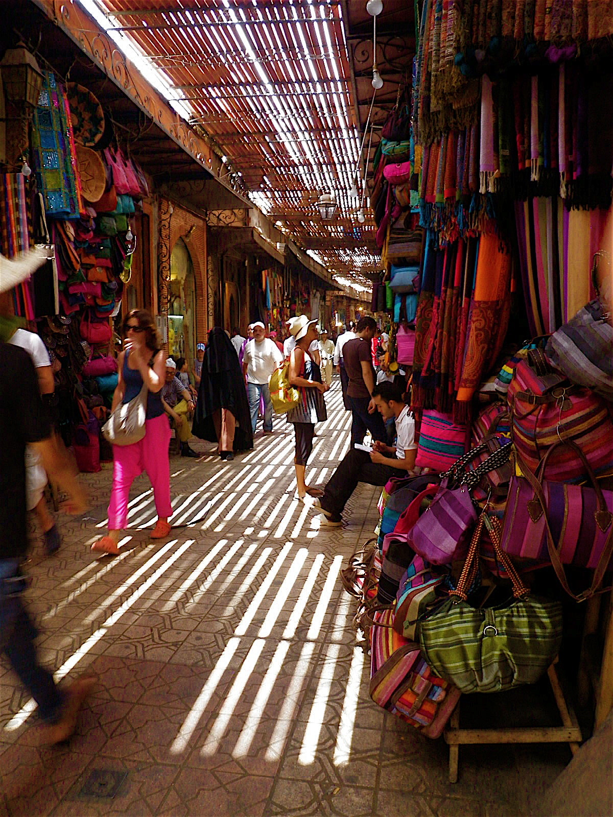 The Medina in Marrakesh…  Dreaming of warm summer days.