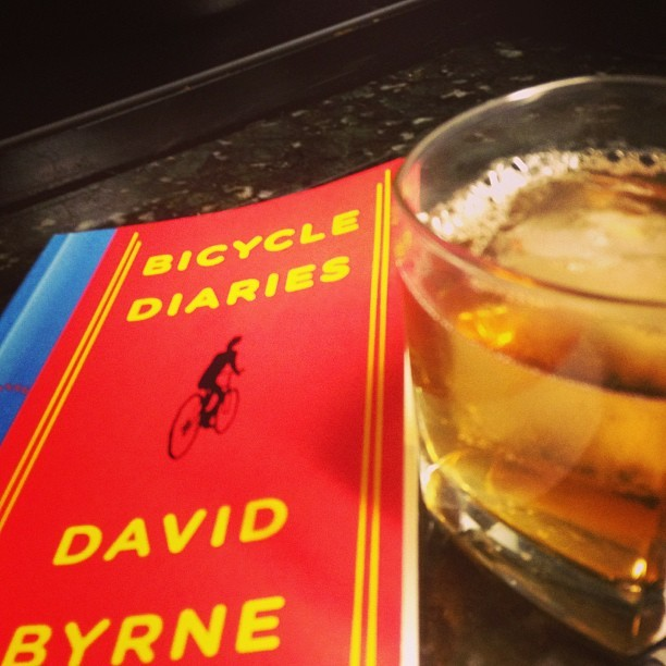 Nightcap. #bikes & #bourbon