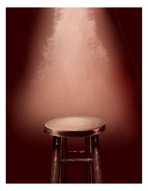 how to draw really dramatic stools: a tutorial by me