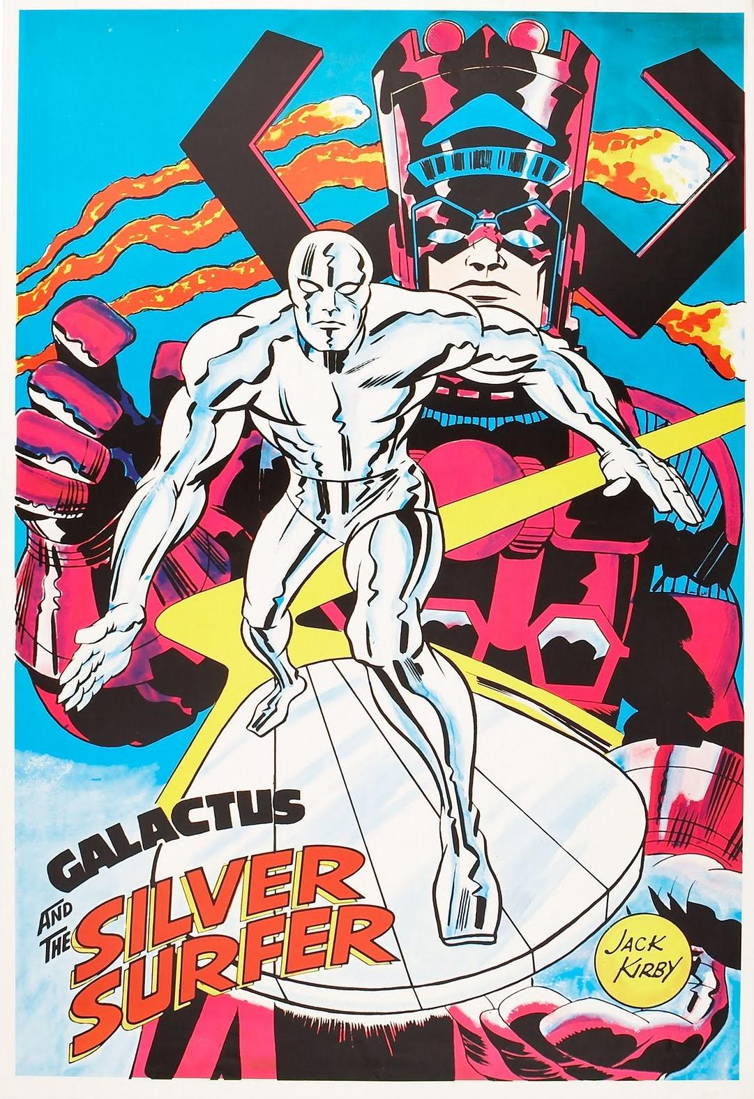 browsethestacks:  Four Marvelmania Posters by Jack Kirby