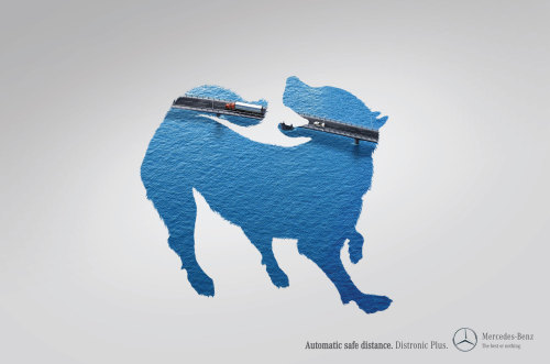 adcollector:  OGILVY & MATHER (Colombia) for Mercedes-Benz Distronic Plus