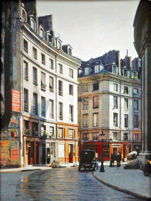 Paris en couleur en 1900