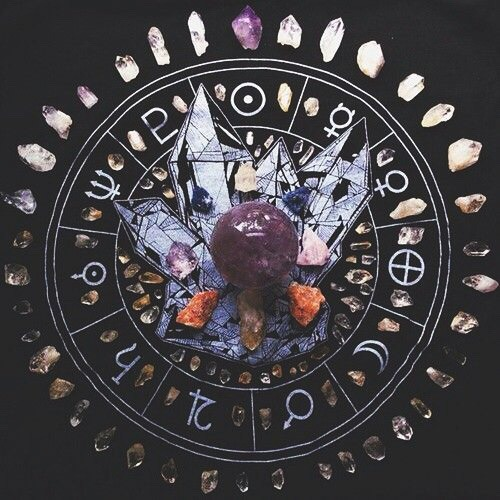 not mine crystals crystal ball divination astrology astronomy witchcraft witch witchy things magic inspiration