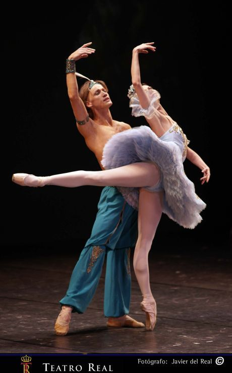 ballet-every-day:  It takes an athlete to dance, but an artist to be a dancer.