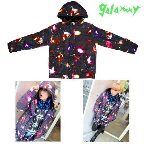 HECK YES, finally got the galaxxxy x galaxias! collab coat :DLast piece of the collection to get is the shorts~