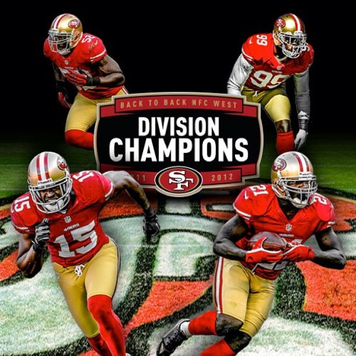Your #49ers are back to back #NFCWestChamps. Who's got it better than us?