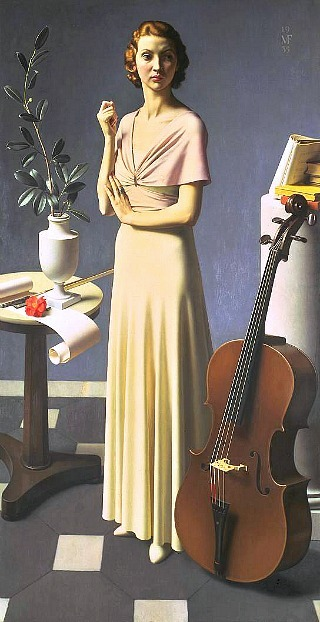 Meredith Frampton Portrait of a Young Woman 1935
