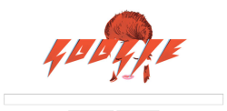 rock-nrollsuicide:  thesibarita:  Google also celebrates David Bowie 66th birthday with this doodle  SERIOUSLY THIS IS BEAUTIFUL   How come I missed this? T_T