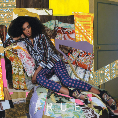 Special edition cover art for Solange's 'True' by an artist I love, Mickalene Thomas.  See some photos of my visit to her exhibit at BAM (the Brooklyn Art Museum) HERE.