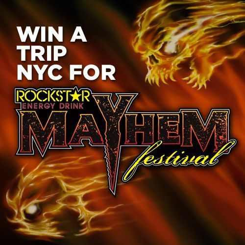 The 6th Annual ROCKSTAR ENERGY DRINK MAYHEM FESTIVAL Weekly Update – Announcing the Sirius XM Contest, Mayhem Survey, Mayhem Special Military Ticket Offer, and More