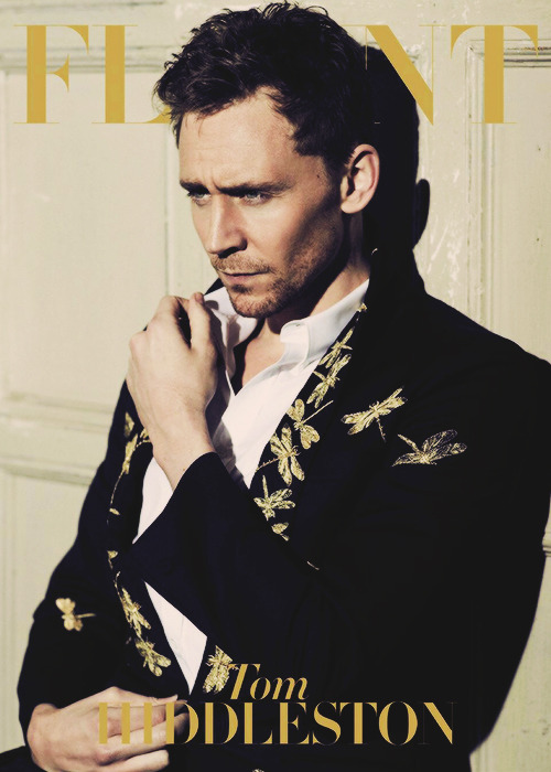 Tom Hiddleston for Flaunt (x)
