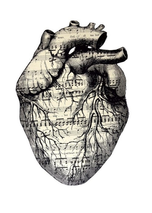 themagicfarawayttree:  Music in my heart